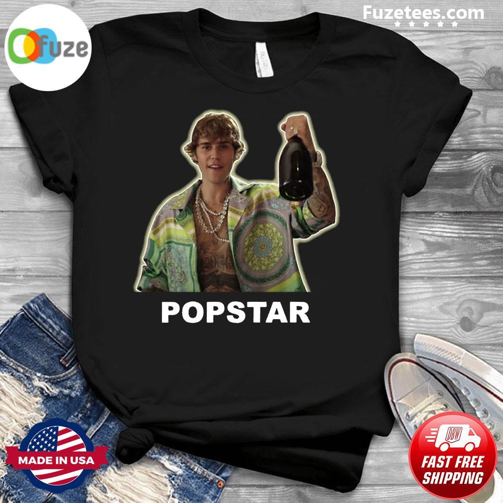 Justin Bieber Popstar Shirt
