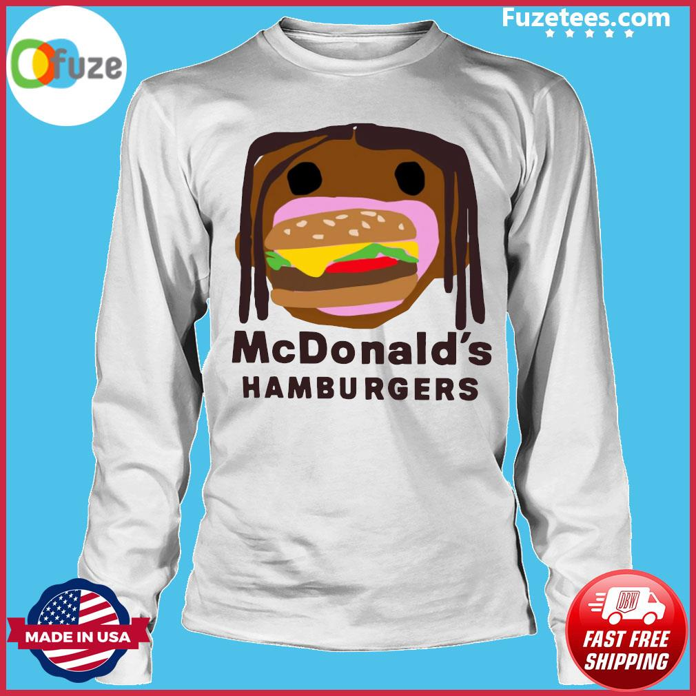 McDonald's Hamburgers s Long Sleeve