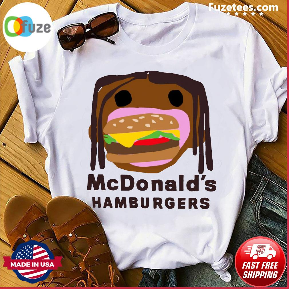 McDonald's Hamburgers shirt