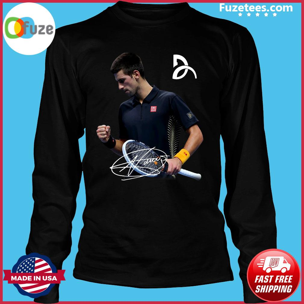 Novak Djokovic Signature Shirt Fuzetee