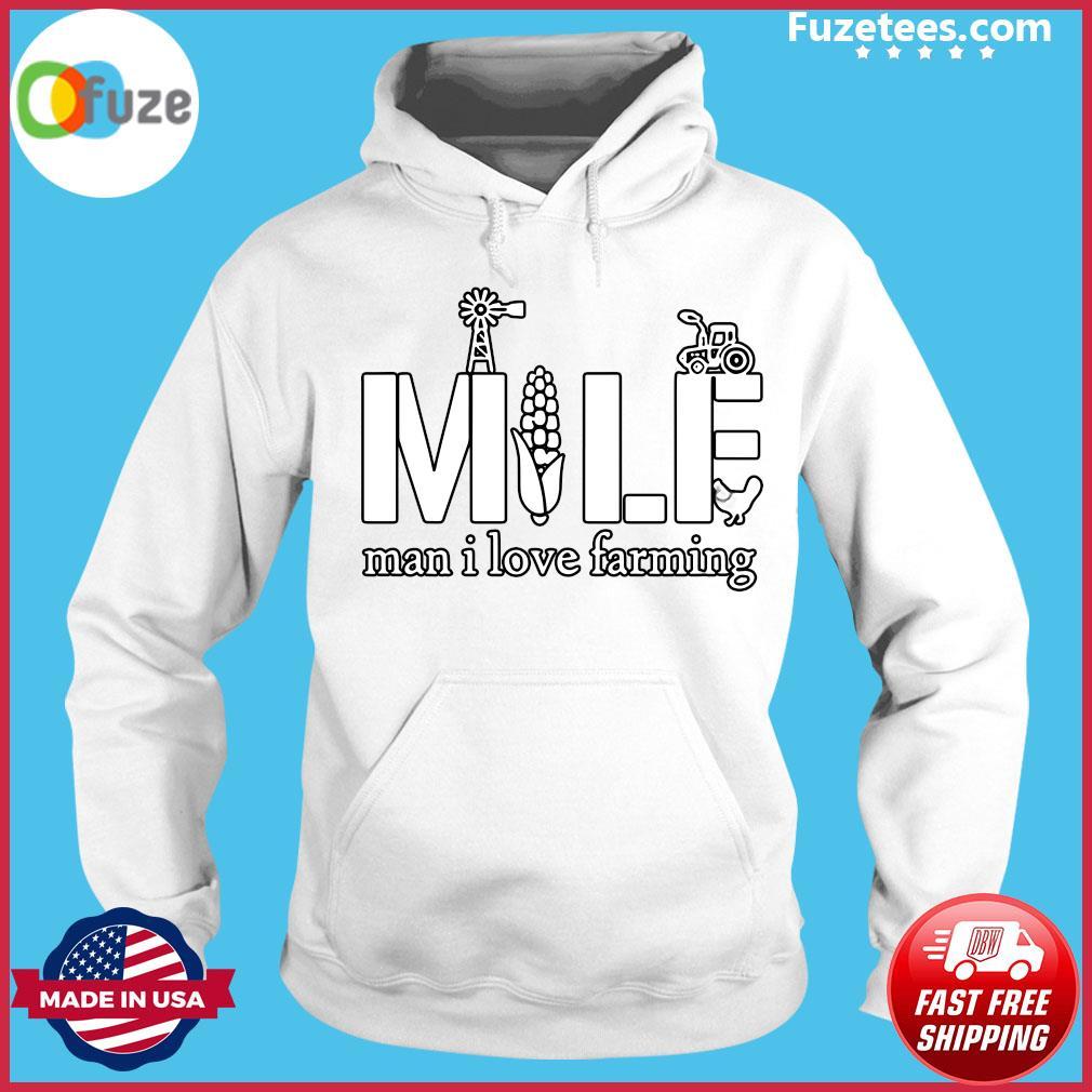 Official MILF Man I love farming s Hoodie