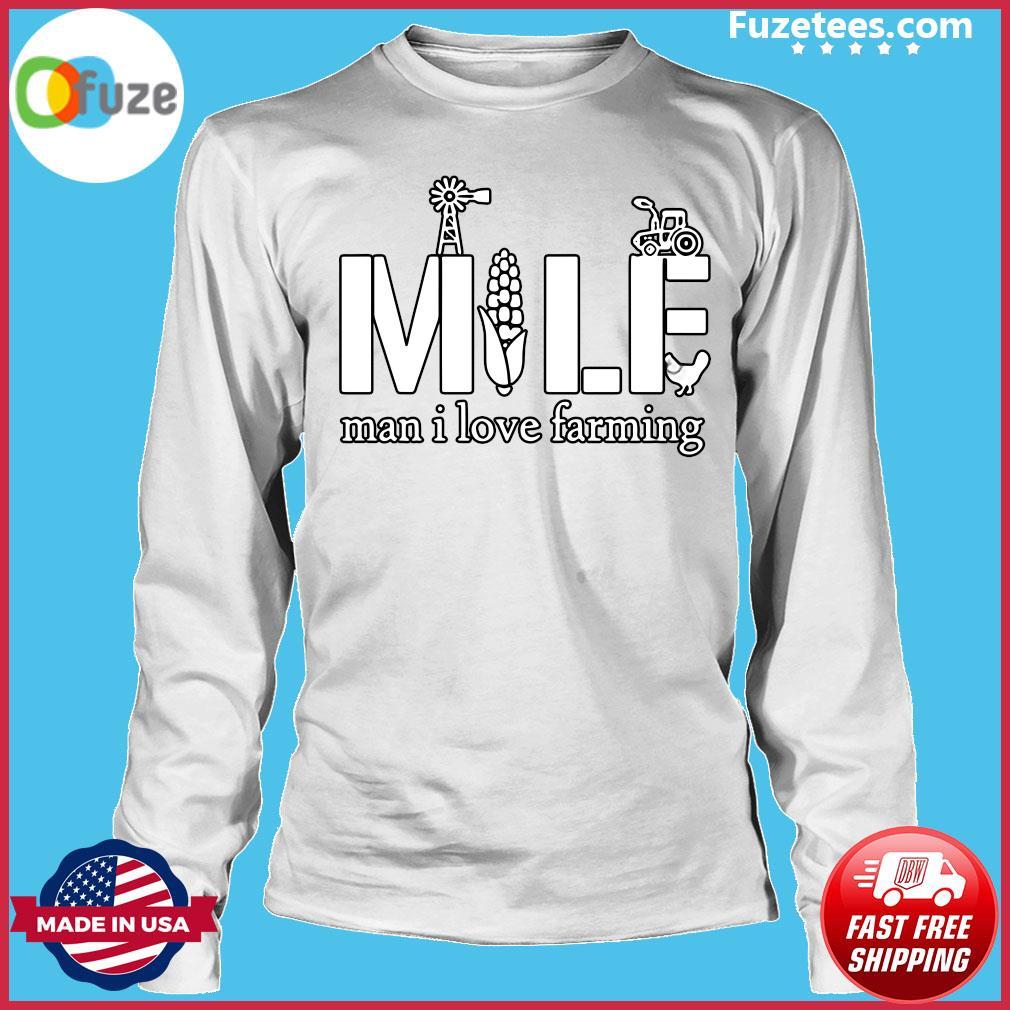 Official MILF Man I love farming s Long Sleeve
