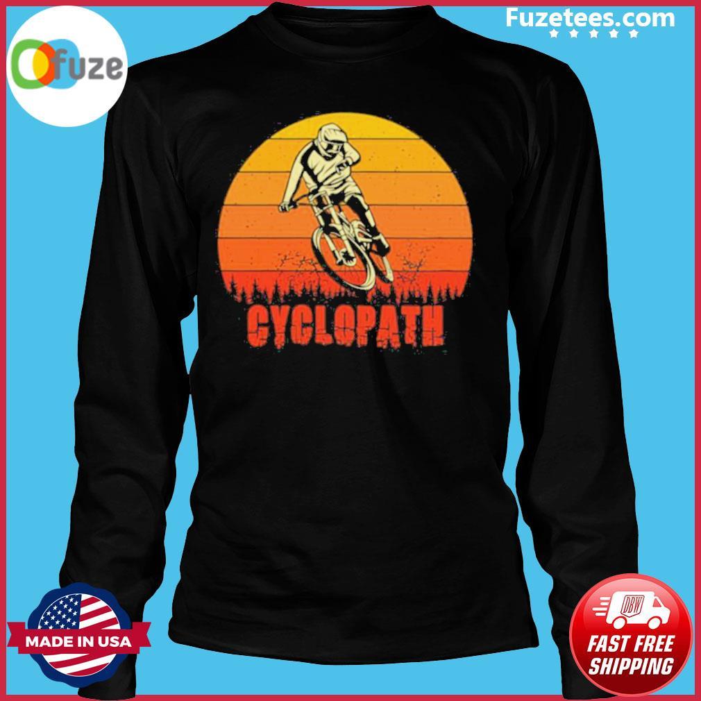 Vintage Cyclopath MTB Bike Sunset s Long Sleeve
