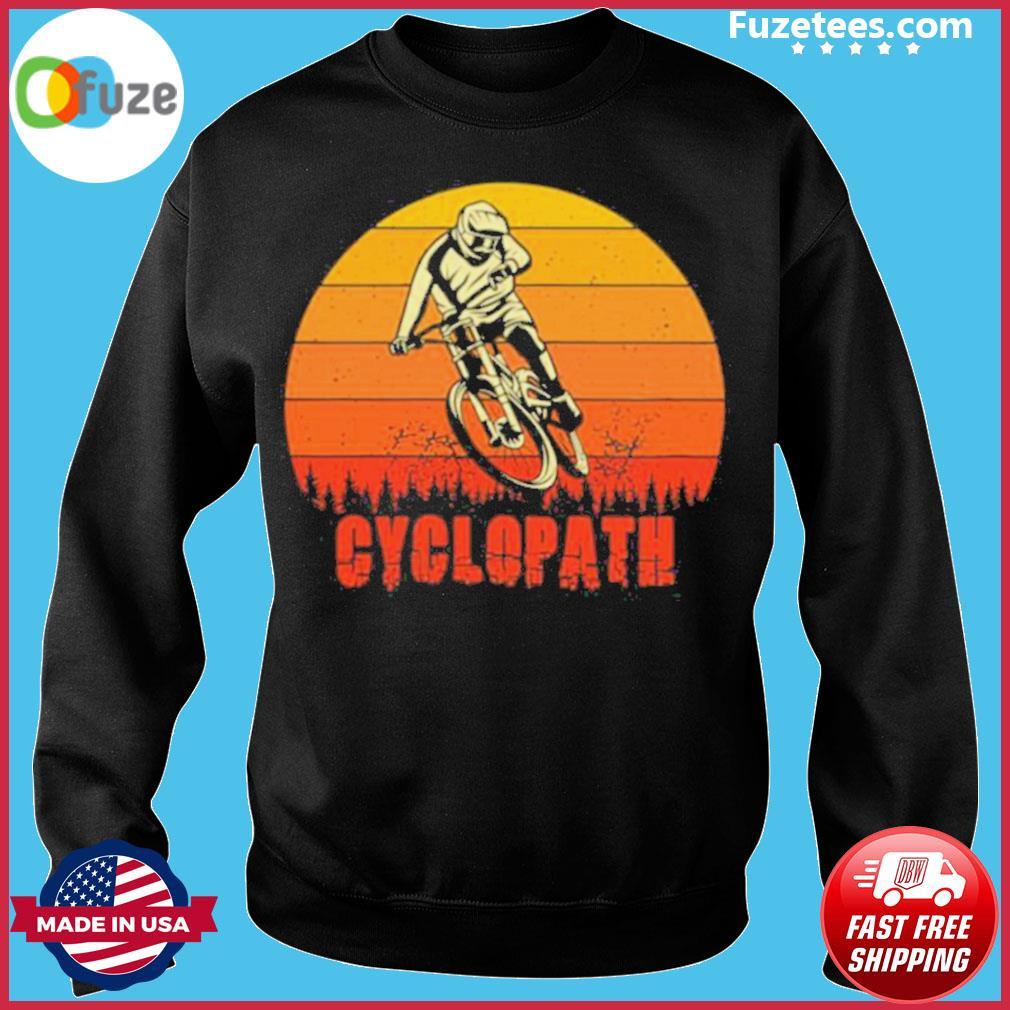 Vintage Cyclopath MTB Bike Sunset s Sweater