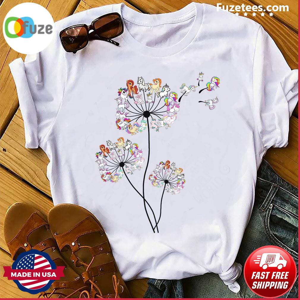 Unicorns Dandelion Shirt