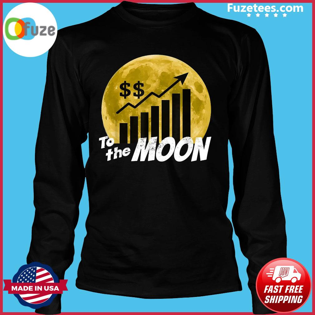 $GME Game To The Moon 2021 Shirt Long Sleeve